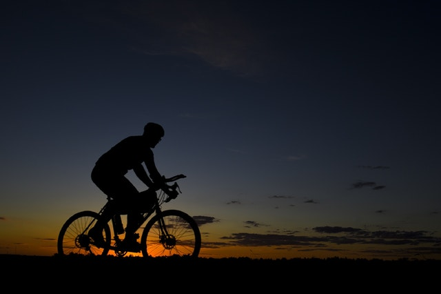 Cycling can help you burn those extra calories and stay fit